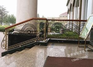 铁艺楼梯设计