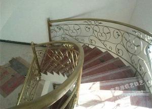 铁艺楼梯效果