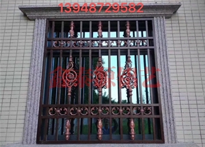 锡林郭勒铝艺护窗厂家
