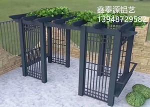 锡林郭勒铝艺长廊