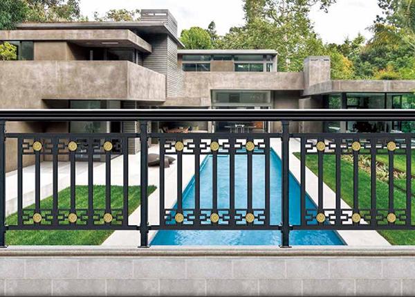 集宁铝艺阳台栏杆