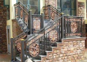 铝艺楼梯扶手价格