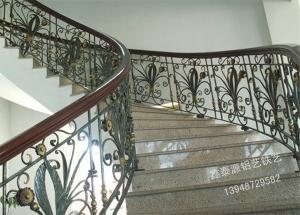 铁艺楼梯扶手立柱