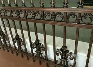 1500×3000铝艺栏杆安装