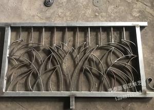 1500×3000铁艺栏杆制作