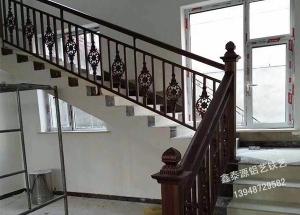 铝艺楼梯扶手生产