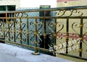 铁艺阳台护栏定做