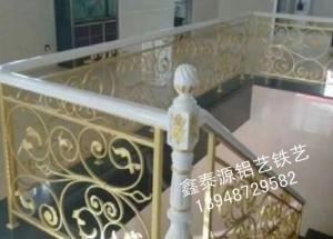 铁艺楼梯扶手施工