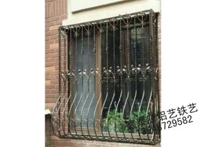 欧式铁艺护窗