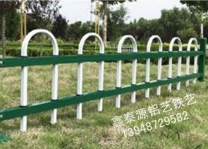 锌钢草坪护栏设计