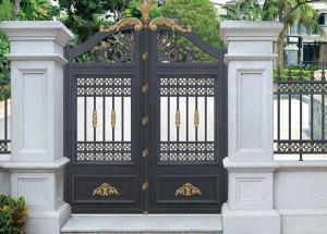 集宁铝艺庭院大门