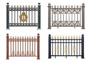 呼市庭院围栏